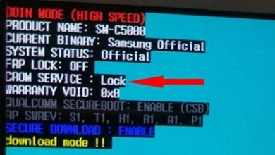 تصویر از آموزش آنلاک CROM SERVICE در گوشی های سامسونگ