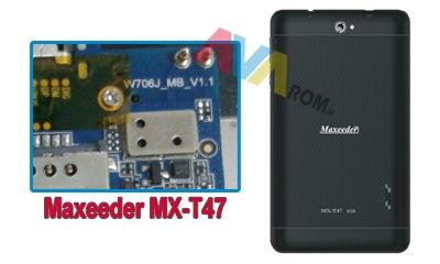 فایل فلش فارسی maxeeder mx-t47 | دانلود رام w706j_mb_v1.1 | رام مکسیدر mx-t47