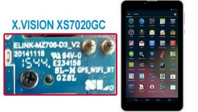 Photo of دانلود فایل فلش فارسی X.VISION XS7020GC با CPU MT6582