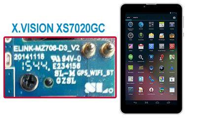 فایل فلش فارسی X.VISION XS7020GC | رام فارسی تبلت چینی X.VISION XS7020GC