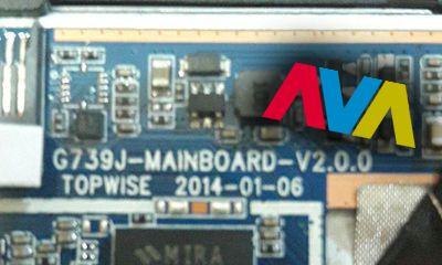 فایل فلش G739J-mainboard-v2.0.0 پردازنده A23   رام فارسی g739j-mainboard-v2