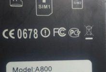 رام گوشی چینی A800 (طرح سامسونگ) مشخصه برد u165_mb_v5.2