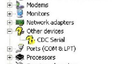دانلود درایور CDC Serial | درایور سی دی سی سریال cdc serial driver download
