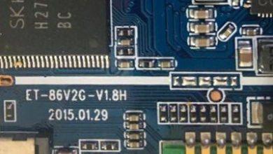 تصویر از رام فارسی تبلت ET-86V2G-V1.8H پردازنده A33