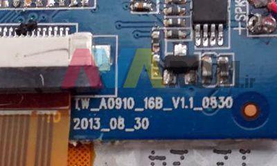 رام فارسی TW-A0910-16B-V1.1-0830 پردازنده A13 تست شده و بدون مشکل