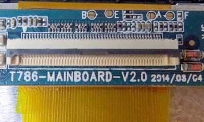 رام فارسی T786-MAINBOARD-V2.0 پردازنده A23 حل مشکل تصویر کاملا تضمینی