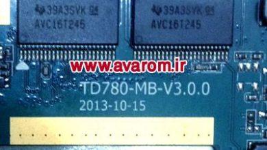 رام فارسی I-Life WTAB704-B مشخصه برد TD780-MB-V3.0.0 پردازنده MT6572