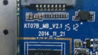 تصویر از رام فارسی تبلت KT07B_MB_V2.1 اندروید 4.4.2 پردازنده MT6572 | آوا رام