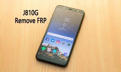 آموزش حذف FRP سامسونگ J810G Galaxy J8 2018 اندروید 9.0.0 تضمینی | آوا رام