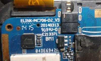 فایل فلش فارسی Elink-MC706-D2_V3 اندروید 4.4.2 پردازنده MT6572 | آوا رام