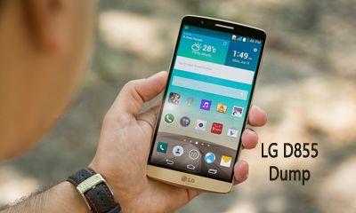 فایل دامپ Dump LG D855 G3 برای ترمیم بوت و پروگرام هارد و حل مشکل خاموشی
