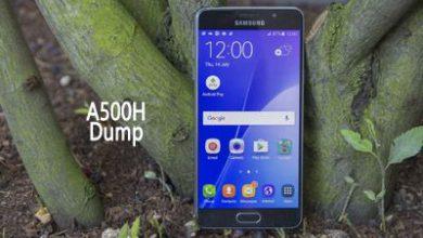 فایل دامپ Dump سامسونگ A500H دانلود فول Dump Samsung A5 SM-A500H