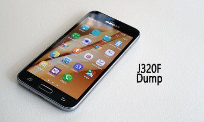 فایل دامپ Dump سامسونگ J320F فول Dump Samsung J3 2016 SM-J320F
