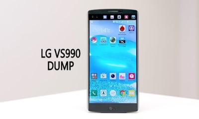 فایل دامپ Dump LG V10 VS990 برای ترمیم بوت و پروگرام هارد و حل مشکل خاموشی