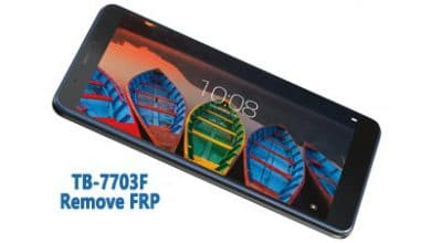 تصویر از فایل و آموزش حذف FRP Lenovo TB-7703F گوگل اکانت تبلت Tab 3 اندروید 6.0