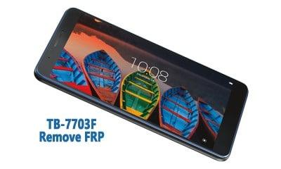 فایل و آموزش حذف FRP Lenovo TB-7703F گوگل اکانت تبلت Tab 3 اندروید 6.0