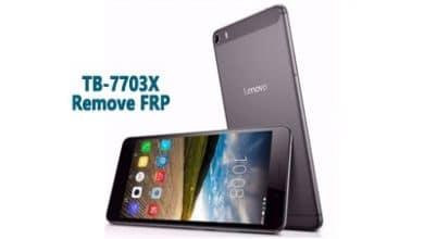 فایل و آموزش حذف FRP Lenovo TB-7703X گوگل اکانت تبلت Tab 3 اندروید 6.0