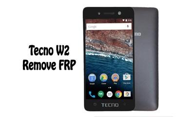 فایل حذف FRP Tecno W2 اندروید 6.0 پردازنده MT6580 تست شده | آوا رام