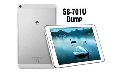 فایل دامپ Dump هواوی S8-701u MediaPad T1 فرمت XML برای پروگرم هارد | آوا رام