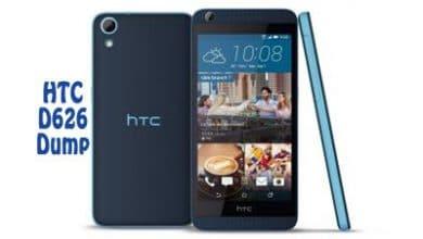 فایل دامپ Dump HTC D626 Desire 626 برای ترمیم بوت و پروگرام هارد | آوا رام