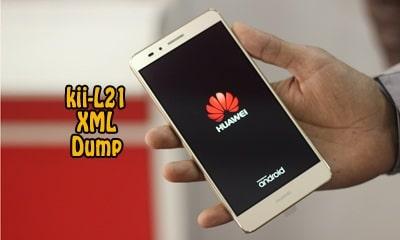 فایل دامپ Dump هواوی KII-L21 GR5 فرمت XML برای پروگرم هارد | دانلود فول دامپ Huawei GR5 KII-L21 حل مشکل خاموشی تست شده | www.avarom.ir