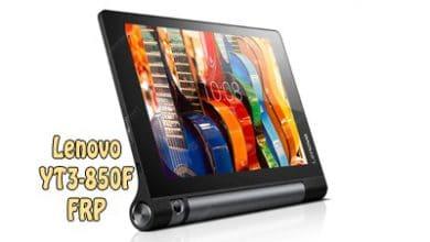 فایل و آموزش حذف FRP Lenovo YT3-850F تبلت Yoga Tab 3 8.0 اندروید 6.0 | پاک کردن قفل گوگل اکانت تبلت لنوو Yoga Tab 3 8.0 YT3-850F تست شده