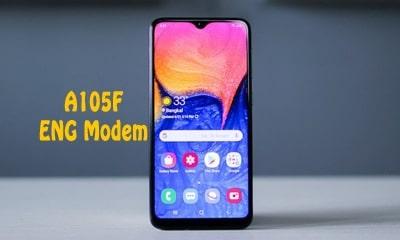 فایل ENG Modem سامسونگ A105F برای رفع مشکل دانگرید مودم هنگام ترمیم سریال   دانلود فایل Eng Modem Samsung SM-A105F برای رفع ارور Downgrade modem