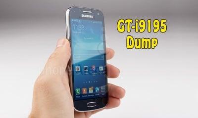 فایل دامپ Dump سامسونگ i9195 برای ترمیم بوت و پروگرام هارد و حل مشکل خاموشی | دانلود فول دامپ سامسونگ GT-I9195 I9195 S4 mini LTE تست شده و تضمینی