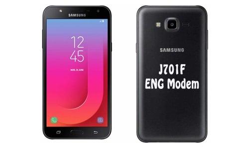 فایل ENG Modem سامسونگ J701F برای رفع مشکل دانگرید مودم هنگام ترمیم سریال | دانلود فایل Eng Modem Samsung SM-J701F برای رفع ارور Downgrade modem