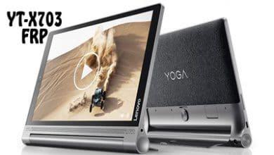 تصویر از فایل و آموزش حذف FRP Lenovo YT-X703 تبلت Yoga Tab 3 Plus | آوا رام