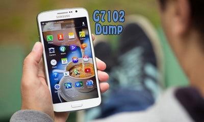 فول دامپ Dump سامسونگ G7102 برای ترمیم بوت و پروگرام هارد و حل مشکل خاموشی | دانلود فایل دامپ سامسونگ SM-G7102 Grand 2 تست شده و تضمینی