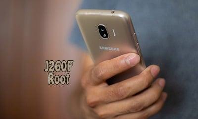 فایل روت سامسونگ ROOT J260F اندروید 8.1.0 تست شده و 100% تصمینی | دانلود فایل و آموزش روت گوشی سامسونگ Galaxy J2 Core 2018 SM-J260F تست شده