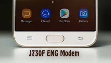 فایل ENG Modem سامسونگ J730F برای رفع مشکل دانگرید مودم هنگام ترمیم سریال | دانلود فایل Eng Modem Samsung J7 Pro SM-J730F رفع ارور Downgrade modem