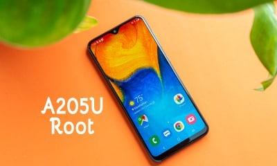 فایل روت سامسونگ A205U اندروید 9 تست شده و تضمینی | دانلود فایل و آموزش ROOT Samsung Galaxy A20 SM-A205U تضمینی | آوا رام
