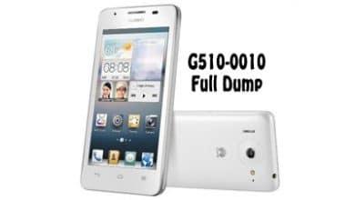 فایل دامپ هواوی G510-0010 برای پروگرم هارد و ترمیم بوت | دانلود فول Dump Huawei G510-0010 تست شده و کاملا تضمینی | آوا رام