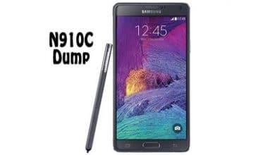 فول دامپ سامسونگ N910C برای پروگرم هارد Note 4 Emmc Dump | دانلود فایل Dump Samsung Galaxy Note4 SM-N910C تست شده | آوا رام