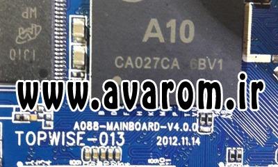 رام فارسی تبلت A088-MAINBOARD-v4.0.0 پردازنده A10 | دانلود فایل فلش فارسی تبلت چینی A088-mainboard-v4.0.0 تست شده | آوا رام