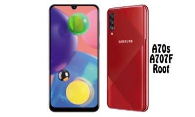 فایل روت سامسونگ A707F گلکسی A70s اندروید 9 تست شده | دانلود فایل و آموزش ROOT Samsung Galaxy A70s SM-A707F تضمینی | آوا رام