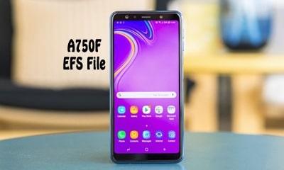 فایل EFS سامسونگ A750F برای حل مشکل شبکه و سریال | حل مشکل شبکه Samsung SM-A750F | حل مشکل سریال گوشی Samsung Galaxy A7 2018
