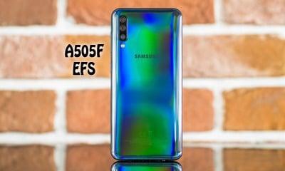 فایل EFS سامسونگ A505F برای حل مشکل Mount EFS | حل مشکل شبکه Samsung SM-A505F | حل مشکل سریال گوشی Samsung Galaxy A50 | آوارام