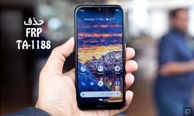 حذف FRP نوکیا 2.2 TA-1188 همه ورژن ها بدون باکس تضمینی | فایل و آموزش حذف قفل گوگل اکانت Nokia 2.2 TA-1188 همه ورژن های اندروید