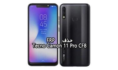 حذف FRP Tecno 11 Pro CF8 تست شده و کاملا تضمینی | فایل و آموزش حذف قفل گوگل اکانت گوشی تکنو Camon 11 Pro CF8 همه بیلدها | آوارام