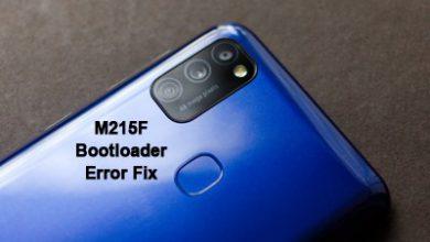 حل مشکل نمایش ارور آنلاک بوت لودر سامسونگ M215F بعد از روت | متن انگلیسی هنگام روشن کردن گوشی بعد از روت گلکسی M21 SM-M215F