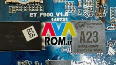 رام فارسی ET_F900_V1.5 تبلت چینی پردازنده A23 تضمینی | دانلود فایل فلش فارسی تبلت مشخصه برد ET-F900-V1.5 140721 | آوا رام