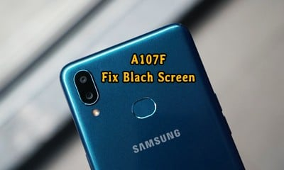 حل مشکل تصویر سیاه A107F اندروید 10 بعد از فلش یا ارتقا اندروید | دانلود فایل مشکل Galaxy A10s SM-A107F Fix Black Screen | آوارام