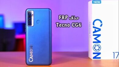 حذف FRP Tecno CG6 گوگل اکانت تکنو Camon 17 تضمینی | دانلود فایل و آموزش حذف قفل گوگل اکانت Tecno Camon 17 CG6 تست شده تضمینی | آوارام