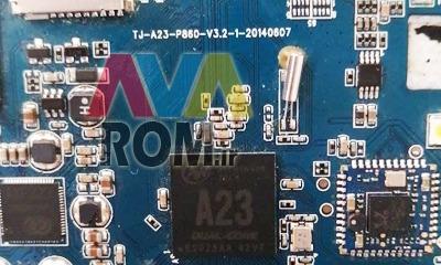 رام فارسی TJ-A23-P860-V3.2 تبلت چینی پردازنده A23 | دانلود فایل فلش فارسی تبلت مشخصه برد TJ-A23-P860-V3.2 تست شده تضمینی | آوا رام